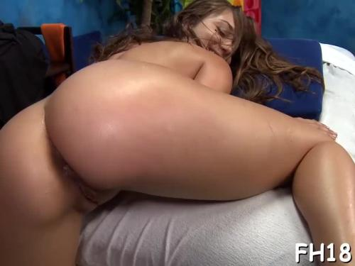 Playgirl is banged hard after sucking on cock